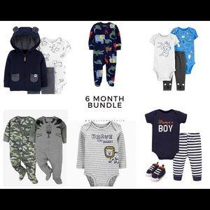 13 piece 6 month bundle NWT